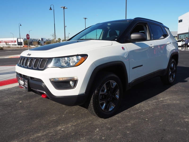 Pre-Owned 2018 JEEP COMPASS TRAILHAWK LEATHER