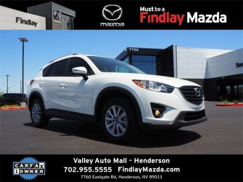 Certified Pre-Owned 2016 Mazda CX-5 Touring W/ Premium Package
